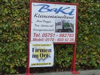 Baki Kleincontainerdienst Porta Westfalica