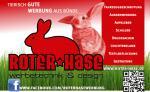 Werbetechnik und Design Roter Hase