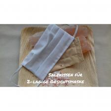 Salzpad für 2 Lagige Gesichtsmaske
